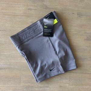 "WOMENS NIKE PRO DELUXE 3"" SPANDEX SHORTS 